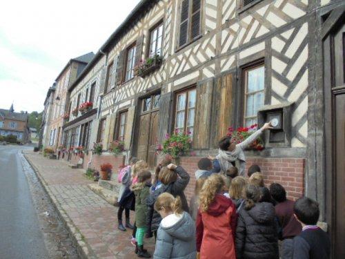 Découverte de l'ancien baromètre de Blangy-le-Château