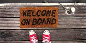 Message de bienvenue
